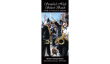 Stamford High School Band TriFold Brochure
